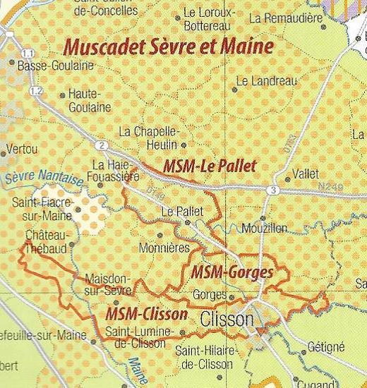 Le coeur du pays du Muscadet