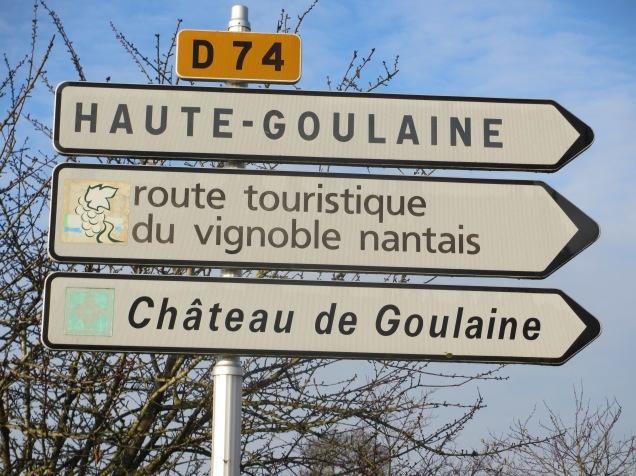 Arrivée au château de Goulaine