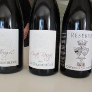quelques vins de la Colombière