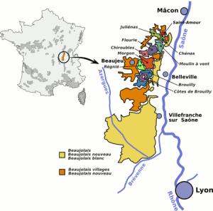 Beaujolais carte