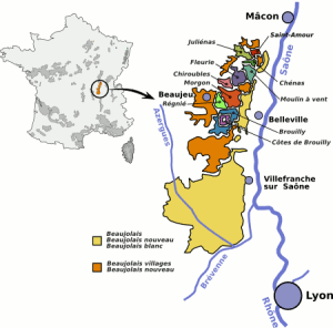 Beaujolais carte