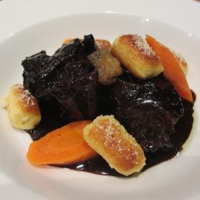 daube de boeuf, carottes et gnocchis: mmmh !