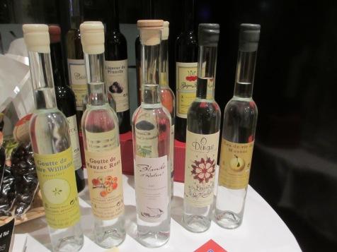 quelques alcools de chez Laurent Cazottes