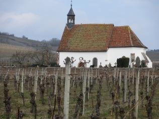 La chapelle St-Denis à Wolxheim