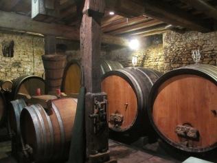 chez Jean-Pierre Rietsch, dans la cave du XVIe siècle