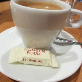 même le café est excellent !