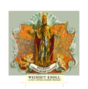 L'étiquette méga-baroque des vins d'Emmerich Knoll (Wachau, Autriche)