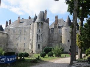 le château de Meung-sur-Loire, près d'Orléans