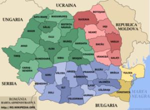 Romania-administrativa