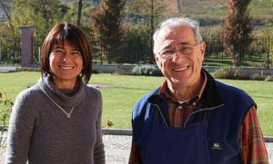 Luciano et sa fille Barbara
