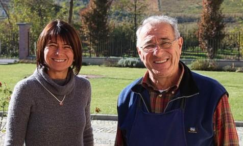 Luciano Sandrone et sa fille Barbara
