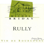 Michel Briday Rully étiquette