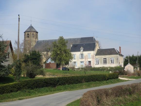 L'église de Morogues