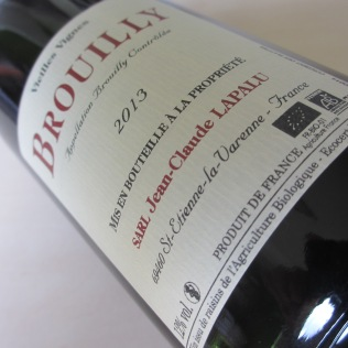 Brouilly 2013