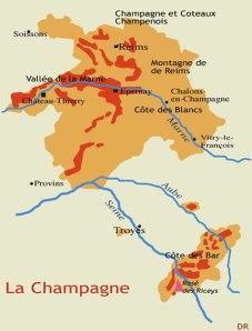 Champagne carte géo