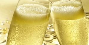 Champagne verres