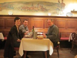 à l'Auberge de Traenheim en compagnie de Mélanie Pfister et de Guillaume Mochel