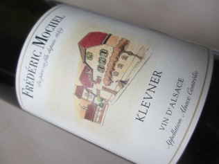 Klevner = pinot blanc. Quoique...