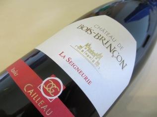 La Seigneurie 2011: cabernet franc