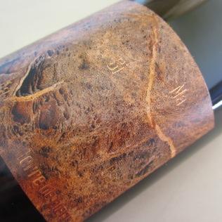 Terroir exceptionnel: serpentinite sur la Butte de la Roche